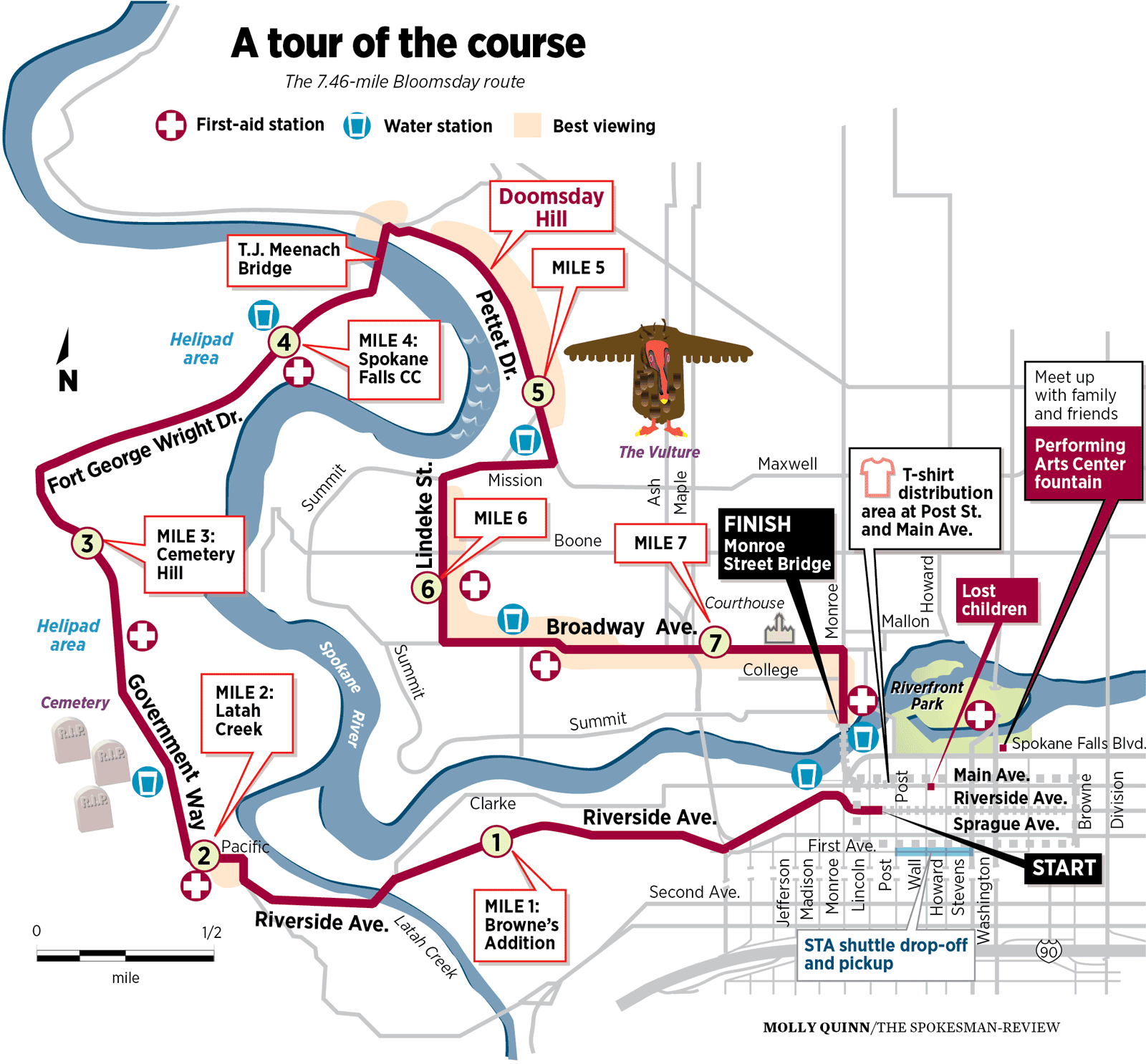 Bloomsday map