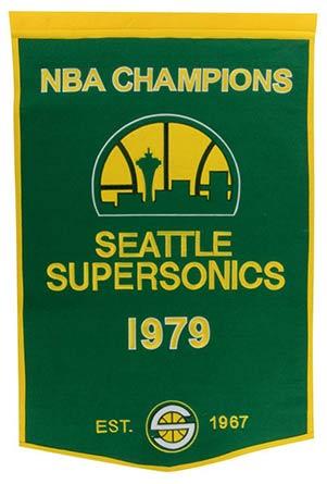 Sonics Championship Banner