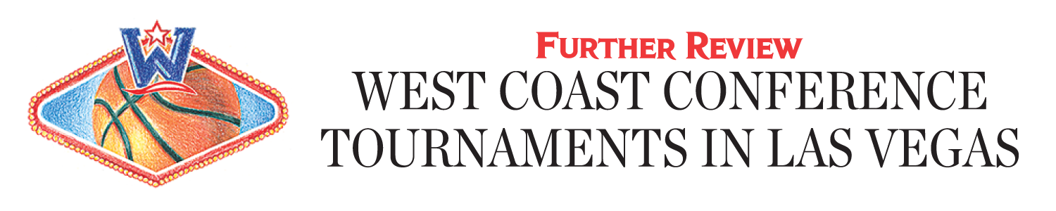 West Coast Conference Tournaments in Las Vegas